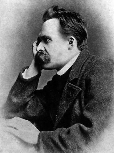 Friedrich Nietzsche in 1882. Photo by Gustav Adolf Schultze (Public Domain. Source: Wikipedia)